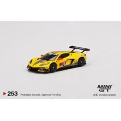 MINI GT MGT00253-L CHEVROLET Corvette C8.R N°3 IMSA 24H Daytona 2020