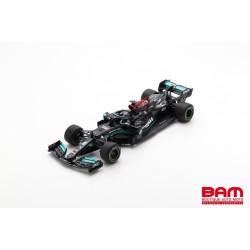 SPARK 18S594 MERCEDES-AMG Petronas W12 E Performance N°44 Petronas Formula One Team Vainqueur GP Espagne 2021 Lewis Hamilton
