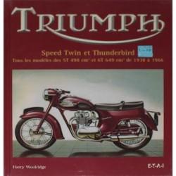 TRIUMPH SPEED TWIN ET THUNDERBIRD