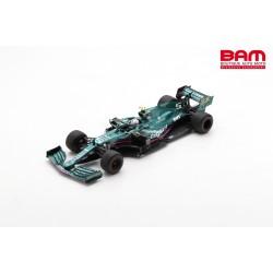 SPARK 18S598 ASTON MARTIN AMR21 N°5 Aston Martin Cognizant F1 Team 2ème GP Azerbaijan 2021