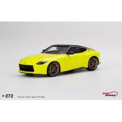 TOP SPEED TS0272 NISSAN Z Proto Yellow