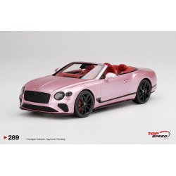 TOP SPEED TS0289 BENTLEY Continental GT Convertible Passion Pink