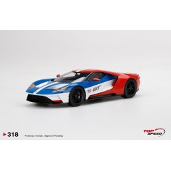 """TOP SPEED TS0318 FORD GT """"Victory Edition"""""""