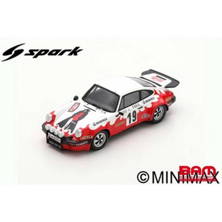 S6614 PORSCHE 911 Carrera N°19 Rallye Monte Carlo 1977 -Bernard Béguin - Guy Gillot