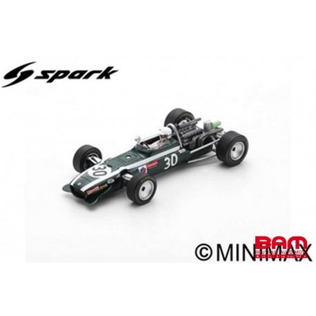 S6984 COOPER T86B N°30 4ème GP France 1968 Vic Elford