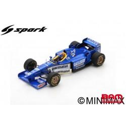 S7414 LIGIER JS43 N°10 6ème GP Espagne 1996 Pedro Diniz