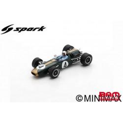 S7434 BRABHAM BT11A N°4 Tasman Series Vainqueur GP Australie 1965 Jack Brabham