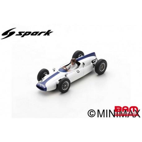 S8062 COOPER T53 N°30 GP Allemagne 1961 lan Burgess