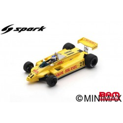 S4581 FITTIPALDI F8 N°21 5ème GP Italie 1980 Keke Rosberg