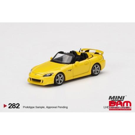 MINI GT00282-L HONDA S2000 CR Rio Yellow Pearl LHD