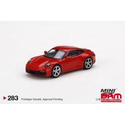 MINI GT00283-L PORSCHE 911 (992) Carrera S Guards Red