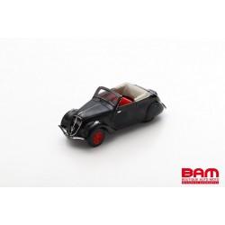 MILEZIM By Spark Z0075 PEUGEOT 202 Cabriolet 1948 Noire (1/43)