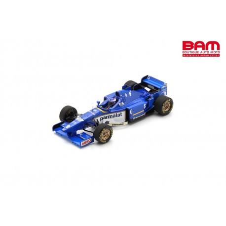 S7413 LIGIER JS43 N°9 Vainqueur GP Monaco 1996 Olivier Panis