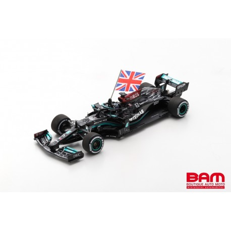SPARK S7683 ERCEDES-AMG F1 W12 E Performance n°44 Petronas Formula One Team Vainqueur GP Angleterre 2021 (1/43)