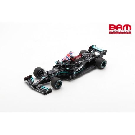 SPARK S7683 ERCEDES-AMG F1 W12 E Performance n°44 Petronas Formula One Team Vainqueur GP Angleterre 2021 (1/18)
