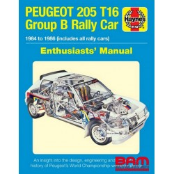 PEUGEOT 205 T16 ENTHUSIASTS MANUAL