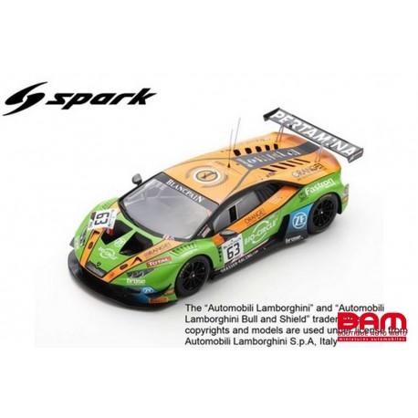 SPARK 18SB015 LAMBORGHINI Huracán GT3 EVO N°63 24H Spa 2019 Bortolotti - Engelhart - Ineichen