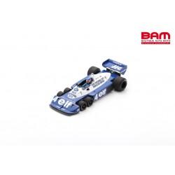 SPARK 18S571 TYRRELL P34 N°4 3ème GP Afrique du Sud 1977 Patrick Depailler