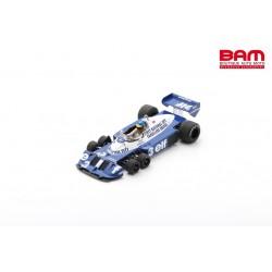 SPARK 18S573 TYRRELL P34 N°3 6ème GP Italie 1977 Ronnie Peterson