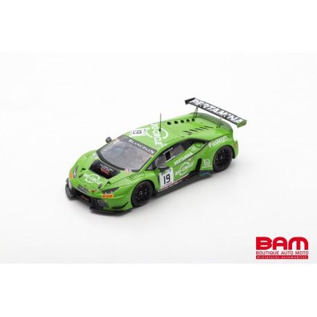 SPARK SB296 LAMBORGHINI Huracán GT3 N°19 24H Spa 2017 Ineichen-Giammaria-Perez Companc