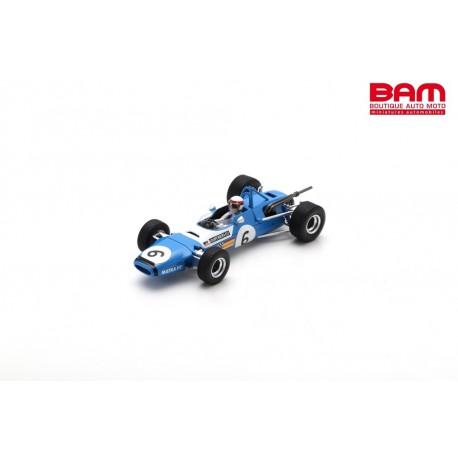 SPARK SF105 MATRA MS7 N°6 1er GP de Reims F2 1968 Jackie Stewart (300ex)