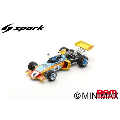 SPARK SF243 BRABHAM BT38 N°4 3ème GP d'Albi F2 1972 Bob Wollek (300ex)