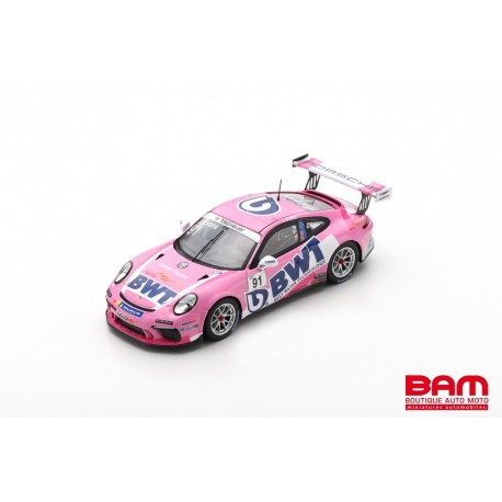 SPARK SF249 PORSCHE 911 GT3 Cup N°91 Porsche Carrera Cup France 2020 J. Evans (300ex)