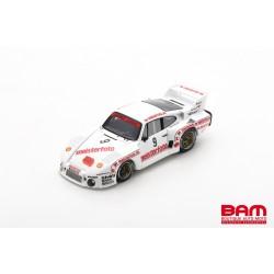 SPARK SG461 PORSCHE 935/80 N°9 1er Mainz-Finthen DRM 1980 Bob Wollek (500ex)