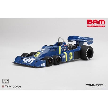 TSM TSM120006 TYRRELL P34 n°3 Vainqueur GP Suède 1976 J.Scheckter