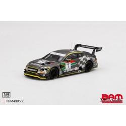TSM TSM430566 BENTLEY Continental GT3 N°7 M-Sport 9H Kyalami 2020 Soulet - Gounon - Pepper