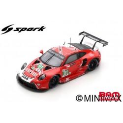 SPARK 18S673 PORSCHE 911 RSR-19 N°91 LMGTE 24H Le Mans 2020 G. Bruni - R. Lietz - F. Makowiecki