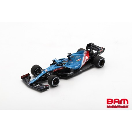 SPARK S7685 ALPINE A521 N°14 Alpine F1 Team GP Hongrie 2021 F. Alonso