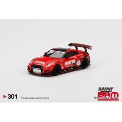 MINI GT MGT00301-R NISSAN GT-R R35 Type 2 Rear Wing ver 3 Infinite MOTUL LB?WORKS