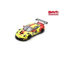 SPARK SB456 PORSCHE 911 GT3 R N°166 Haegeli By T2 Racing 1er AM class 24H Spa 2021 Decurtins-Busch-Lauck-Basseng (300ex)