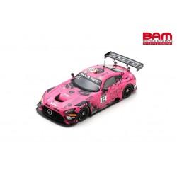 SPARK SB457 MERCEDES-AMG GT3 N°69 Ram Racing 24H Spa 2021 de Haan-Collard-Collard-Schiller (300ex)