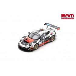 SPARK SB475 PORSCHE 911 GT3 R N°56 Dinamic Motorsport 24H Spa 2021 Dumas-Rizzoli-Pedersen (300ex)