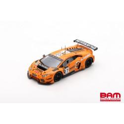 SPARK SB298 LAMBORGHINI Huracán GT3 N°27 24H Spa 2017 Filippi-Pohler-Crestani (300ex)