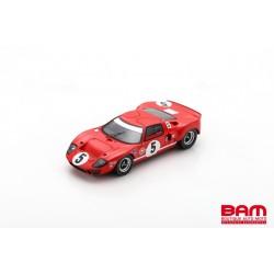 SPARK UK009 FORD GT40 N°5 4ème 6H BOAC 1968 Paul Hawkins - David Hobbs (300ex)