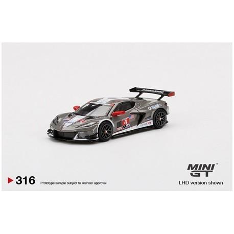 MINI GT MGT00315-LCHEVROLET Corvette C8.R N°4 Corvette Racing