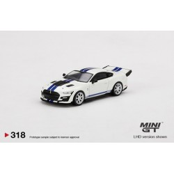MINI GT MGT00318-L SHELBY GT500 Dragon Snake Concept Oxford White
