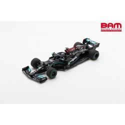 SPARK 18S604 ERCEDES-AMG F1 W12 E Performance n°44 Petronas Formula One Team Vainqueur GP Russie 2021 (1/18)