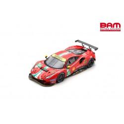 LOOKSMART LSLM122 FERRARI 488 GTE EVO N°52 AF Corse 24H Le Mans 2021 D. Serra - M. Molina - S. Bird