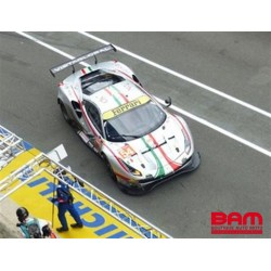LOOKSMART LSLM124 FERRARI 488 GTE EVO N°54 AF Corse 24H Le Mans 2021 T. Flohr - G. Fisichella - F. Castellacci