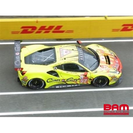 LOOKSMART LSLM126 FERRARI 488 GTE EVO N°57 Kessel Racing 24H Le Mans 2021 T. Kimura - S. Aandrews - M. Jensen