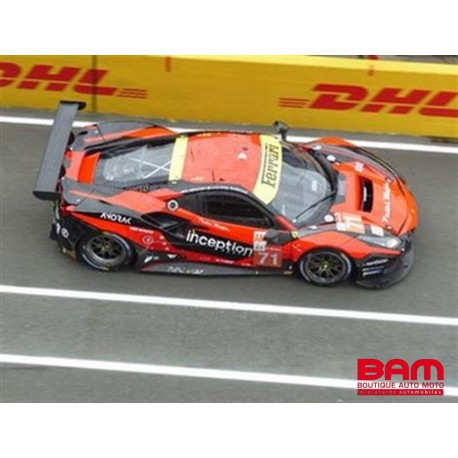 LOOKSMART LSLM129 FERRARI 488 GTE EVO N°71 Inception Racing 24H Le Mans 2021 B. Iribe - O. Millroy - B. Barnicoat