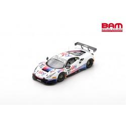 LOOKSMART LSRC106 FERRARI 488 GT3 N°93 SKY-Tempesta Racing 24H Spa 2021 C. Froggatt - J. Hui - M. Cressoni - E. Cheever