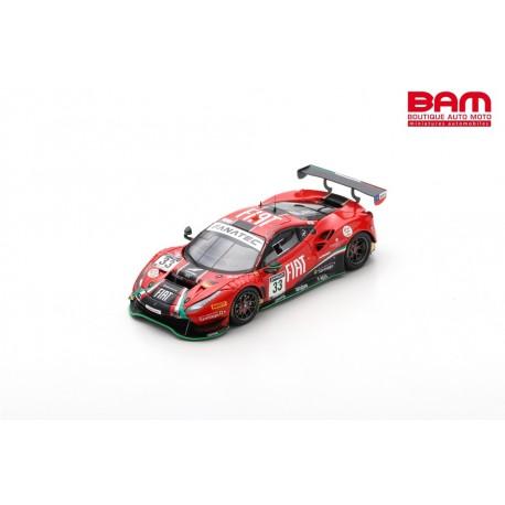 LOOKSMART LSRC107 FERRARI 488 GT3 N°33 Rinaldi Racing 24H Spa 2021 B. Hites - F. Crestani - D. Perel