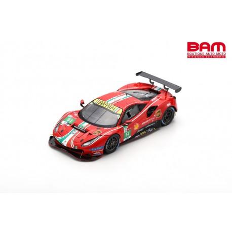 LOOKSMART LSLM121 FERRARI 488 GTE EVO N°51 AF Corse Vainqueur LMGTE Pro class 24H Le Mans 2021