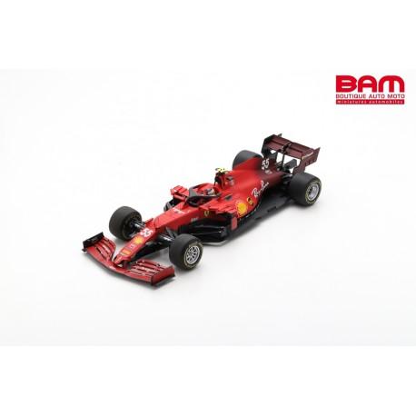 LOOKSMART LS18F1039 FERRARI Scuderia SF21 N°55 Scuderia Ferrari GP Angleterre 2021 C. Sainz Jr.