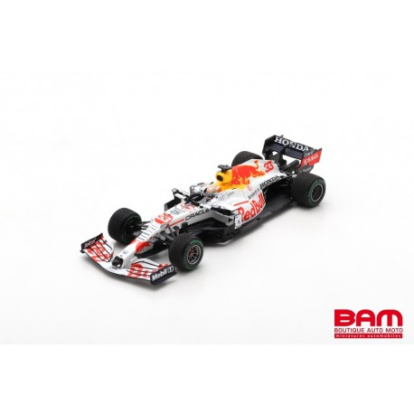 SPARK S7696 RED BULL Racing RB16B N°33 2ème GP Turquie 2021 Max Verstappen